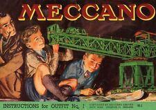 Meccano Green Crane POSTER
