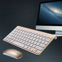 New Wireless Desktop Keyboard and Mouse Combo Entertainment PC Laptop2.4GHZ