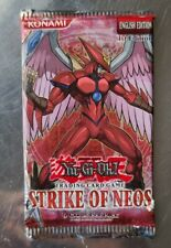 Yugioh Cards - Strike of Neos 1st Edition Factory Sealed Blister Pack