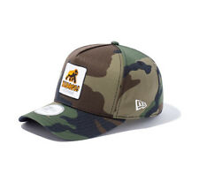 Pre-owned XLARGE NEW ERA WALKING APE PATCHED SNAPBACK CAP Camo Justin Bieber