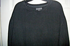 COVINGTON XXL size Black RIB knit SWEATER THICK WEAVE TOP NICE CONDITION