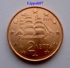 Griekenland / Greece 2 cent 2003 UNC