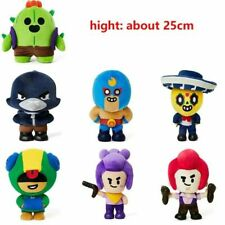 Brawl Stars x Line Friends Plush Toy Doll Christmas Gifts Limited Edition
