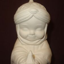 "Wiseman Nativity 9"" Ceramic Bisque Ready to Paint Unpainted U-paint"
