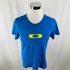 Oakley Regular Fit Blue Short Sleeve T-Shirt Mens Medium M