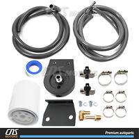 363cid EXCURSION 6.0L OHV V8 POWER STROKE DIESEL TURBO 03-10 F-Series CNS EGR-DK-OCK43 EGR Delete Kit /& Engine Oil Cooler /& Cooler Kit with Gaskets for Ford E-Series