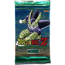 Dragon Ball Z Perfection Booster Pack Trading Card Game NEW Games DBZ Add Ons