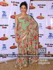 Bollywood Sari New Designer Asian Wedding Party Wear Sari