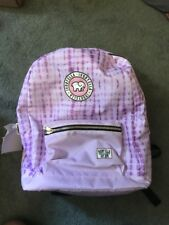 Ivory Ella Backpack Prototype One Of A Kind Pink Tie Dye School Bag New!