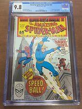 Amazing Spider-Man Annual #22 CGC 9.8 WP Marvel 1988 1st app Speedball