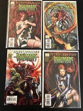 Secret Invasion: Inhumans #1-4 Lot Set Run Marvel Comic Books
