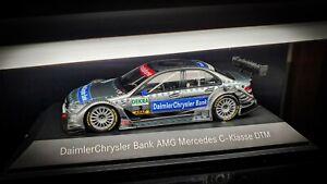 Mercedes C-Class AMG DTM DaimlerChrysler Bank Bruno Spenger 1/43 Minichamps