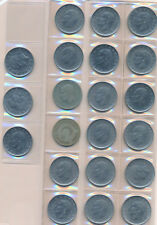 Sacco 21 Monete Coins 21x 1 Turchese Lira Turchia Türkiye Lirasi molto bello