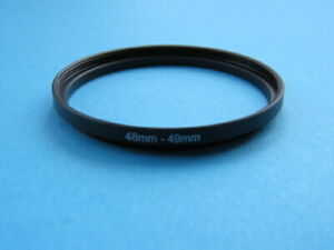 48mm to 49mm Step Up Step-Up Ring Camera Lens Filter Adapter Ring 48mm-49mm