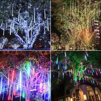 Douche de météores LED lumières chute de pluie mariage jardin lampe Noël décor