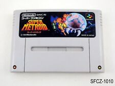 Super Metroid Super Famicom Japanese Import SFC SNES Japan JP US Seller B