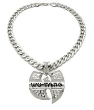 """NEW WU TANG PENDANT WITH 11mm 20"""" CUBAN CHAIN"""