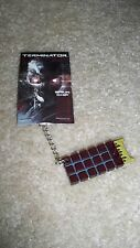 TERMINATOR BRAIN CHIP KEYCHAIN - BRAND NEW IN SEALED PACKAGE - FREE SHIPPING