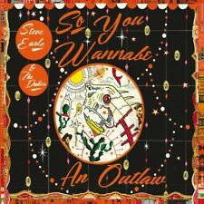 Steve Earle & the Du - So You Wannabe An Outlaw [New CD]