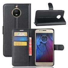 0cf35e505ae Funda para el Motorola Moto G5s Libro Cover Wallet Case-s bolsa Negro