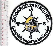 SCUBA Hard Hat Bosarge Diving Inc Complete Underwater Service Pascagoula MS whit