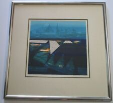 PATRICK KELLY LITHOGRAPH ARTIST PROOF ABSTRACT ATLANTIS MODERNISM RARE LIMITED