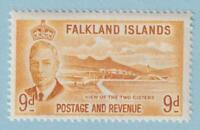 FALKLAND ISLANDS 114  MINT NEVER HINGED OG ** NO FAULTS EXTRA FINE!