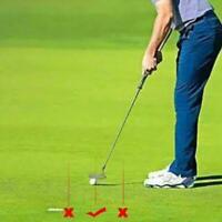 1Stück Golf Putter Visier Zeiger Outdoor Golf Trainingshilfe Aim Smart Line B5I6