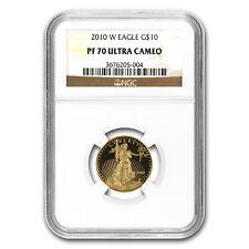 2010-W 1/4 oz Proof Gold American Eagle PF-70 NGC - SKU #66676