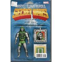 Secret Wars #8 Marvel Super Heroes Doctor Doom 02/2016 variant figure cover book