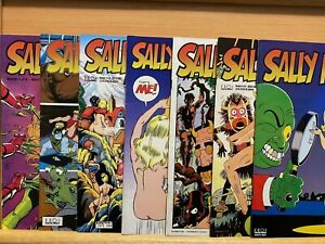 SALLY FORTH #1-7 (1993) Wally Wood  Adult Underground Indie Co