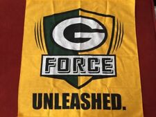 "Green Bay Packers Two ""G Force Unleashed"" Bandanas Handkerchiefs NWOT SGA"