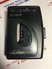 Sony Walkman Wm-Fx21 Fm/Am Radio Cassette Tape Player, Avls, CrO2 Tested F2