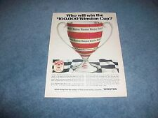 """1971 Inaugural NASCAR Winston Cup Points Chase """"Who Will Win the $100,000..."""""""