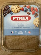 Pyrex Transparent Oven safe Scratch Resistant Glass Baking,Roasting Tray 32x26cm