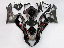 Black Bodywork Injection ABS Fairing Kit For Suzuki GSXR 1000 K5 K6 2005-2006