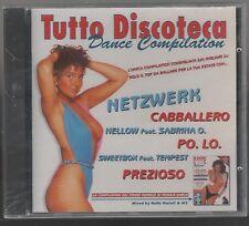 TUTTO DISCOTECA DANCE COMPILATION  CD F.C. SIGILLATO!!!