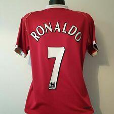 RONALDO 7 Manchester United Shirt - Medium - 2006/2007 - AIG Nike Jersey