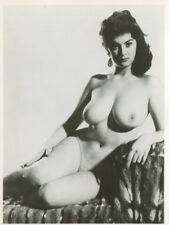 "Eve Eden  By Harrison Marks  6"" x 4"" 1950 Original Nude Pinup Photo  B8041"