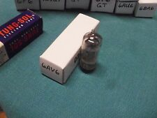 Vintage 1961 RCA 6AV6 Twin Diode-Triode Vacuum Tube, Hickok Tested!