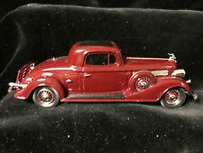 Boxed BROOKLIN Lansdowne BC1 BUICK 1935 96-S Coupe Car Maroon Diecast Model 1/43
