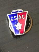 Vintage Collectible C S A C Colorful Metal Pinback Lapel Pin Hat Pin