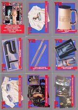 Terminator 2 - T2  - Merchandise - Complete Card Set (10) - 1991 Impel - NM