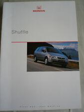 Honda Shuttle brochure Aug 1998