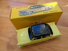 DINKY TOYS 24Z - SIMCA VERSAILLES YELLOW CAR - NEW - ATLAS EDITIONS BOXED