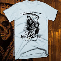 Grim reaper tattoo T-shirt army Marines Special Forces Navy Seals sniper veteran