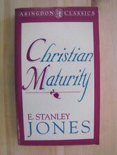 Christian Maturity (Abingdon Classics) by Jones, E. Stanley