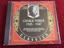 RARE The Chronological 1945-1947 Charlie Parker CD, Nov-1999, Classics