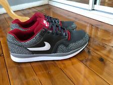 NIKE Air Safari Mens Grey/Red Running Shoes UK10 US 11 Eur 45 As New