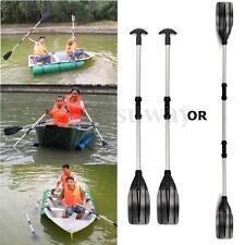 New 1 Pair Joint Oars Set Aluminum Paddles Boat Kayak Raft Canoe Handle 133cm